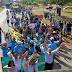 Samambaia marcha contra o abuso sexual de crianças e adolescentes