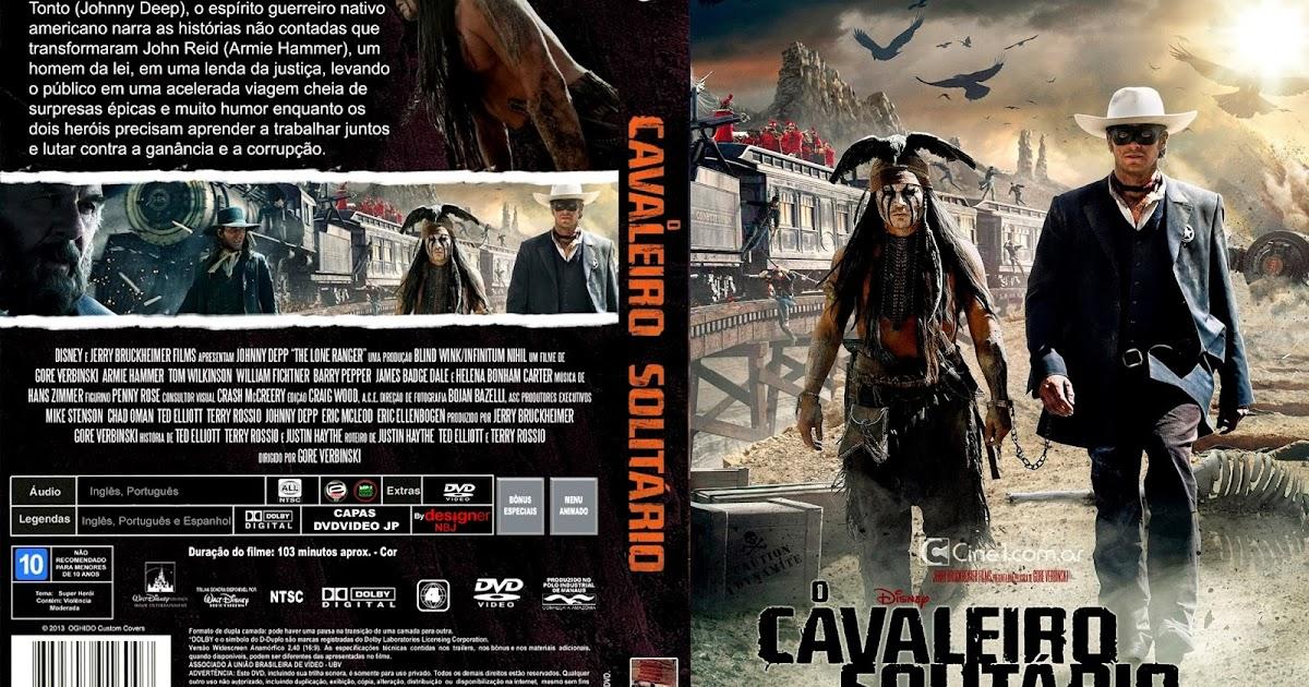CAPAS DVD VIDEO JP: O CAVALEIRO SOLITÁRIO