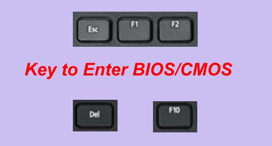 how to enter bios windows 10