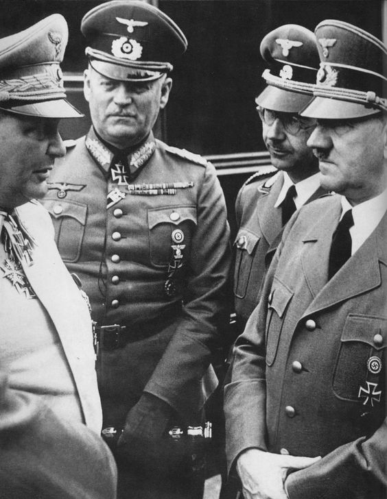 20 April 1941 worldwartwo.filminspector.com Hitler Goering Himmler Keitel