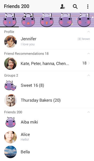 Cute hippo theme v.1 (JP)