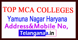 Top MCA Colleges in Yamuna Nagar Haryana