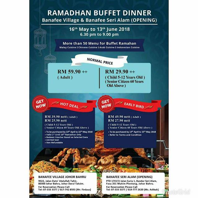 Buffet Ramadhan 2018 Benafee Village