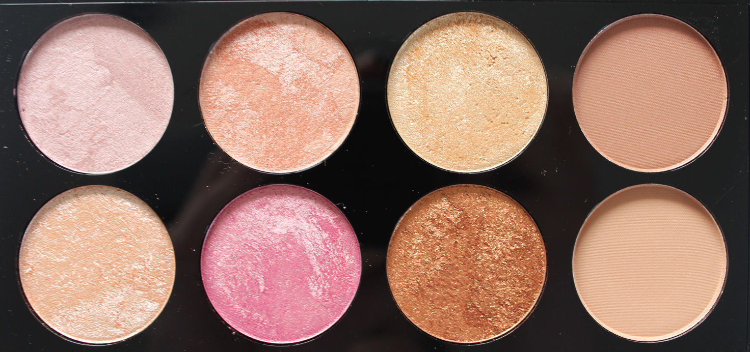 MAKEUP REVOLUTION | Golden Sugar 2 Rose Gold Blush Palette - Review + Swatches