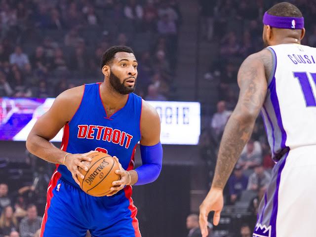 Andre Drummond et DeMarcus Cousins | PistonsFR, actualité des Detroit Pistons en France