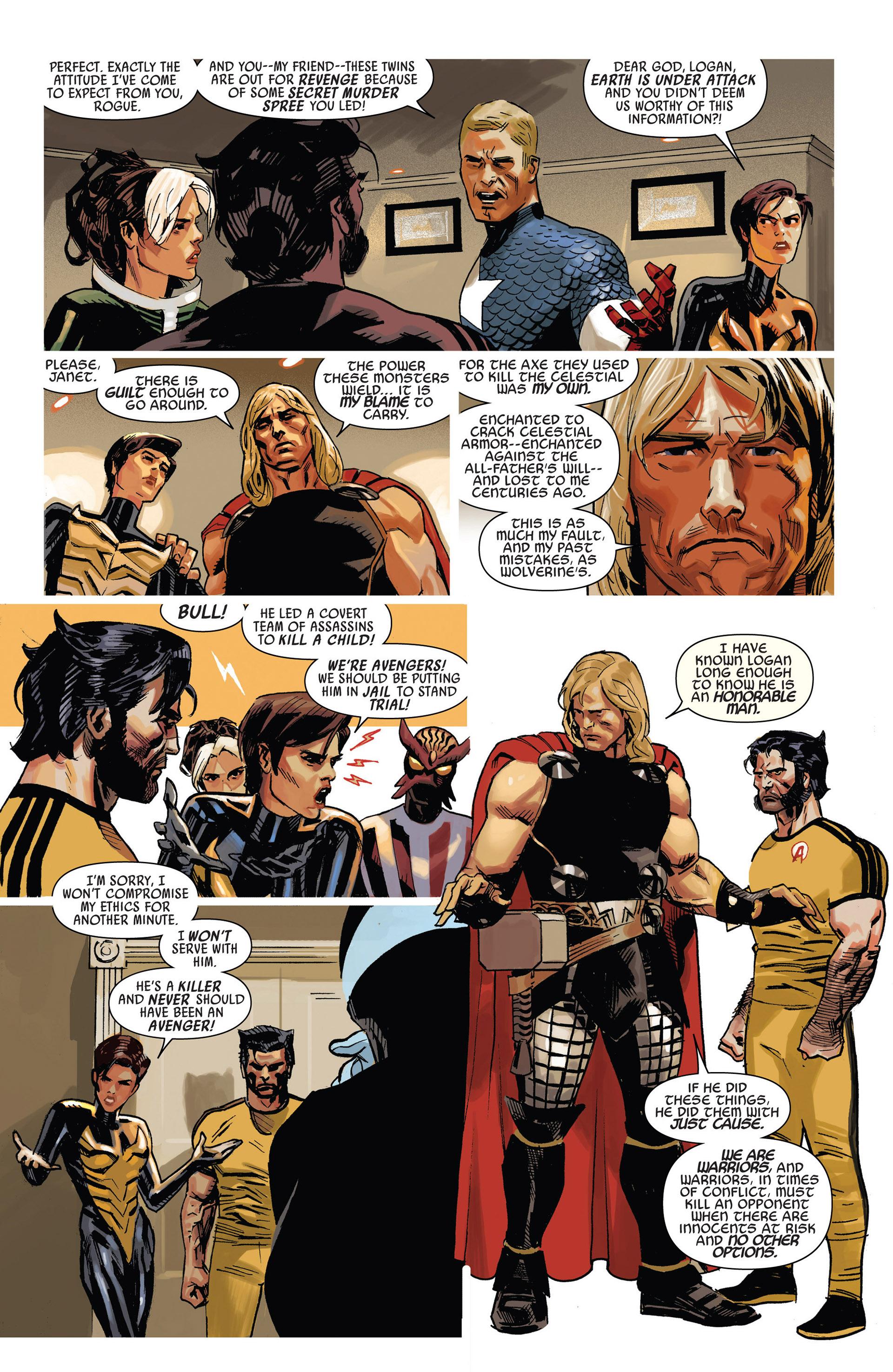 Read online Uncanny Avengers (2012) comic -  Issue #9 - 17