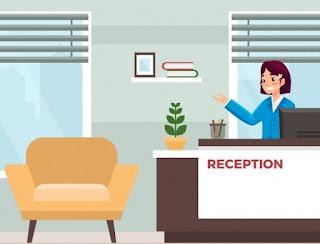 empleo para recepcionista