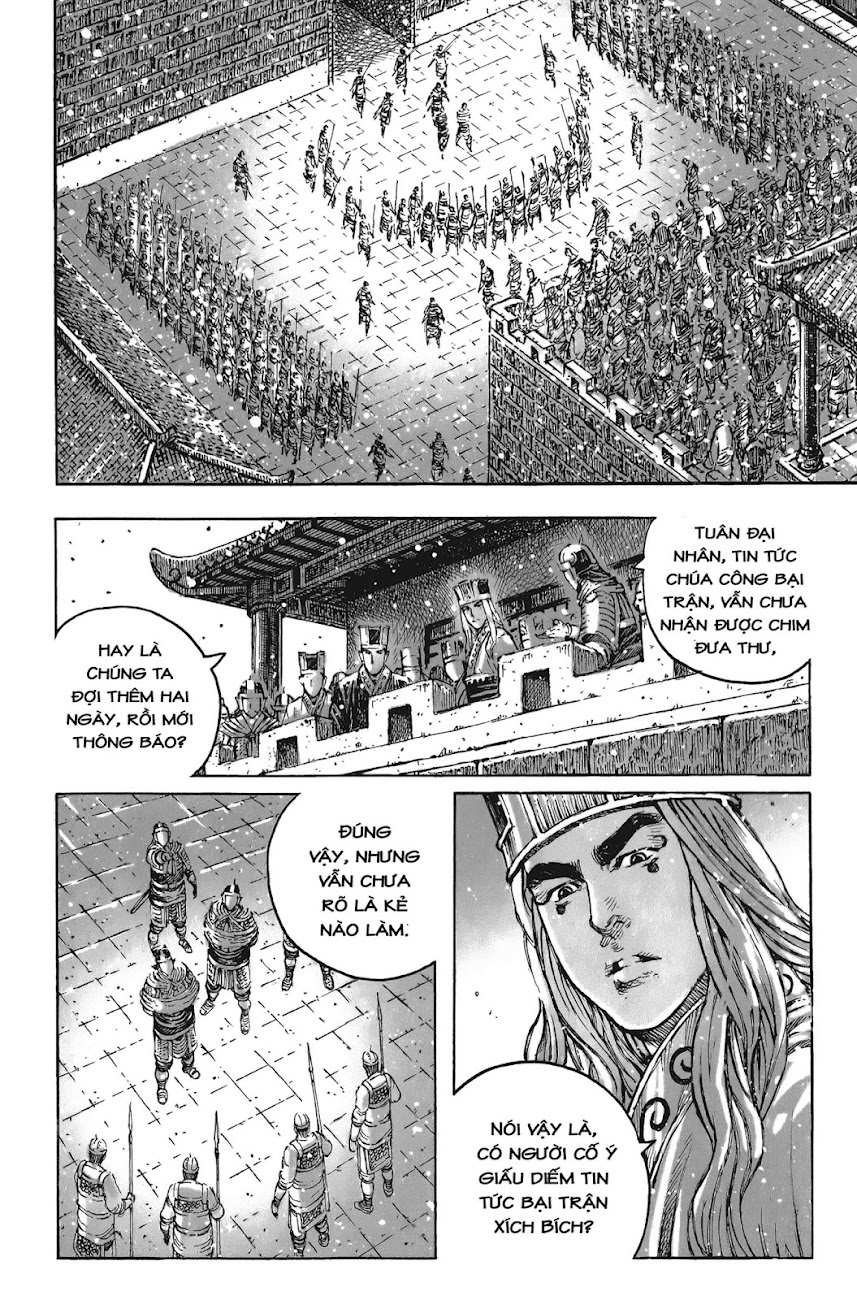 Hỏa phụng liêu nguyên Chương 435: Lâm nguy thụ mệnh [Remake] trang 4