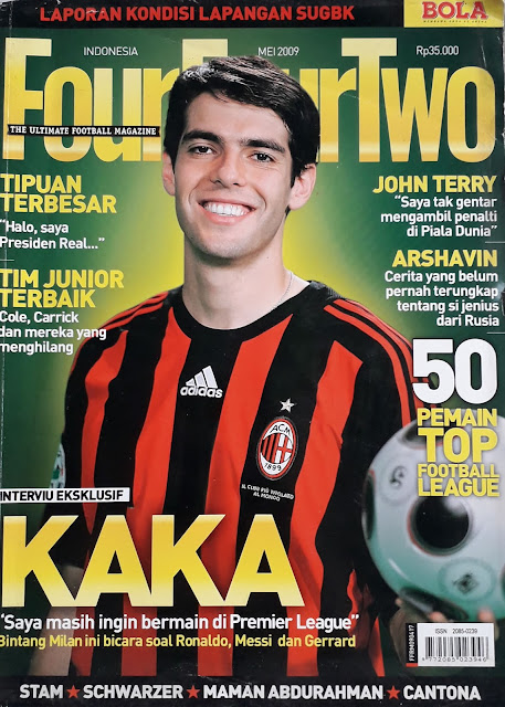 MAJALAH FOUR FOUR TWO: INTERVIU EKSKLUSIF KAKA