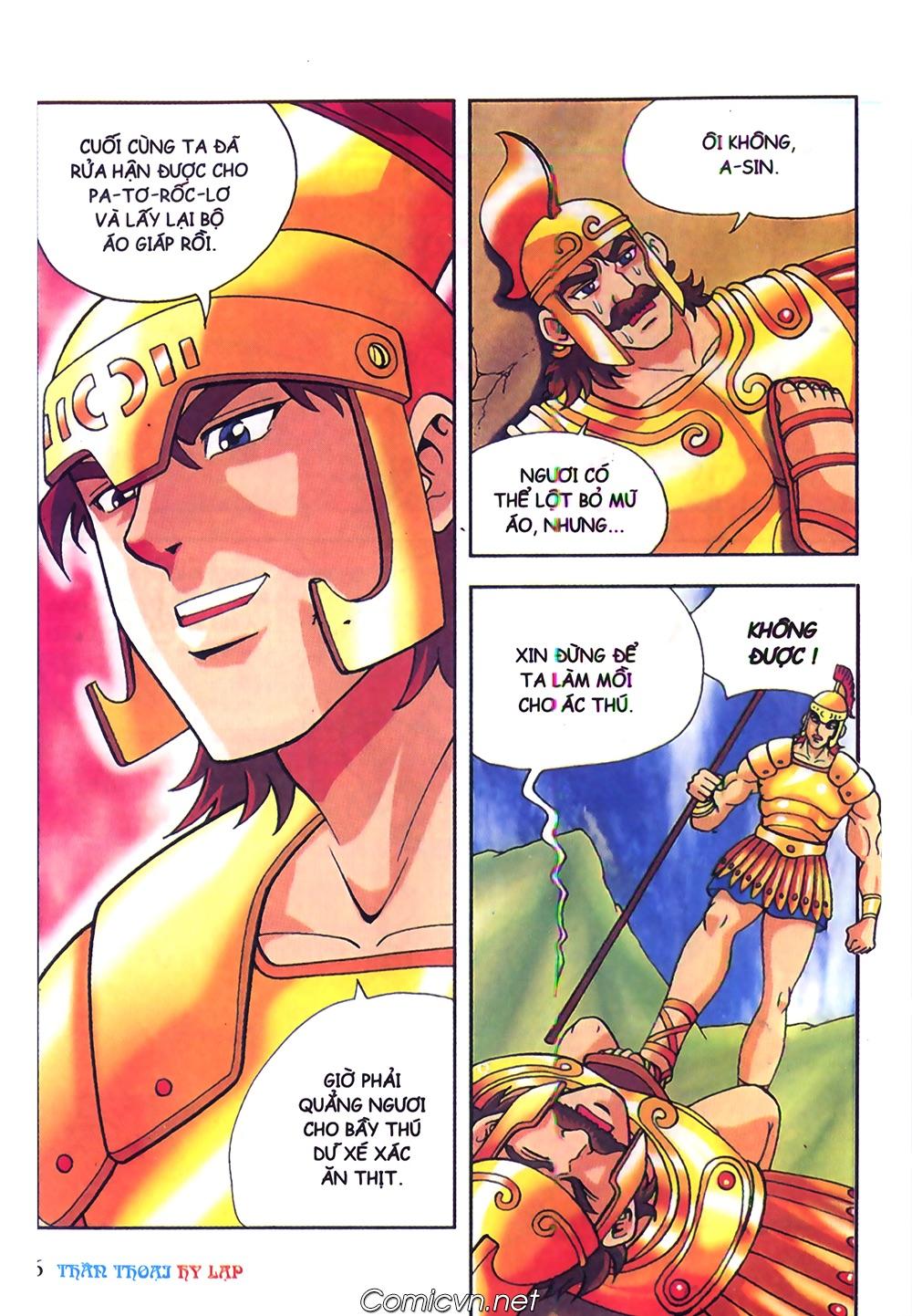 Thần Thoại Hy Lạp Màu - Chapter 62: Hector tử trận - Pic 6