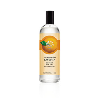 SATSUMA BODY MIST from The Body Shop