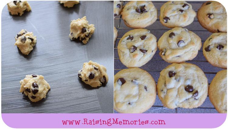 Best Chocolate Chip Cookie Recipe and Tutorial by www.RaisingMemories.com