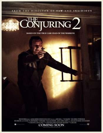 Poster Of The Conjuring 2 2016 ORG Dual Audio 160MB BRRip HEVC Mobile ESubs Free Download Watch Online downloadhub.net