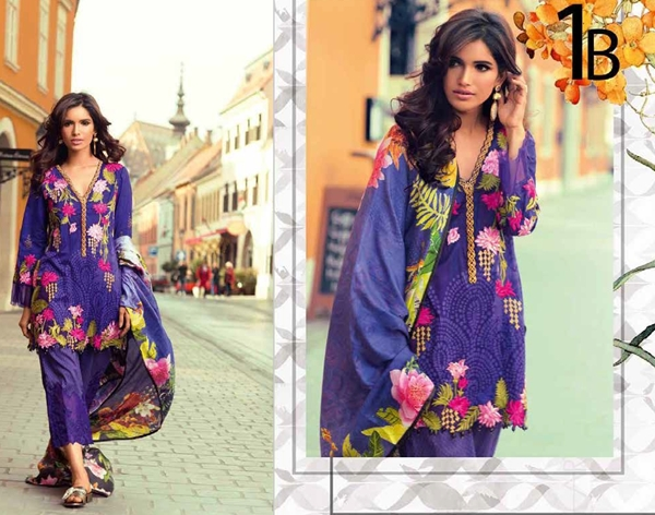 Shariq Mina Hasan Lawn Eid Collection 2017 with Prices