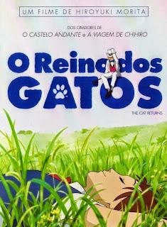 assistir - Neko no Ongaeshi Dublado (O Reino dos Gatos) - online