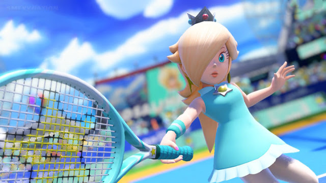 mario tennis aces rosalina