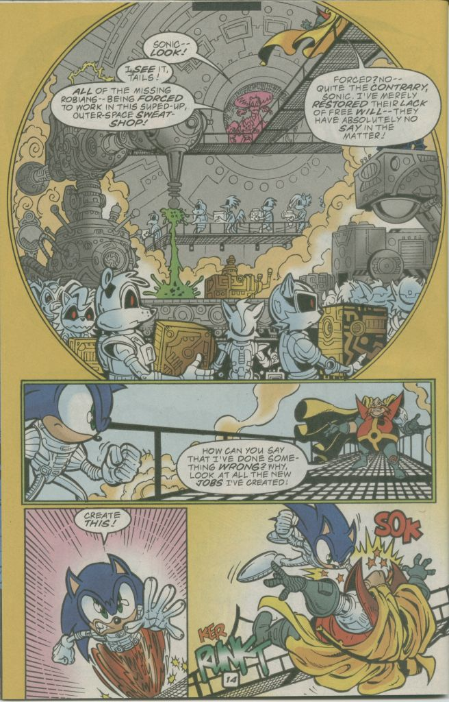 Read online Sonic The Hedgehog comic -  Issue #74 - 18