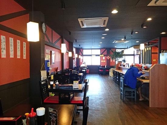 あけぼのラーメン 一日橋店の店内の写真
