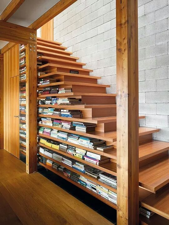 double open stairs world of architecture 8 examples of stairs that do double duty as
