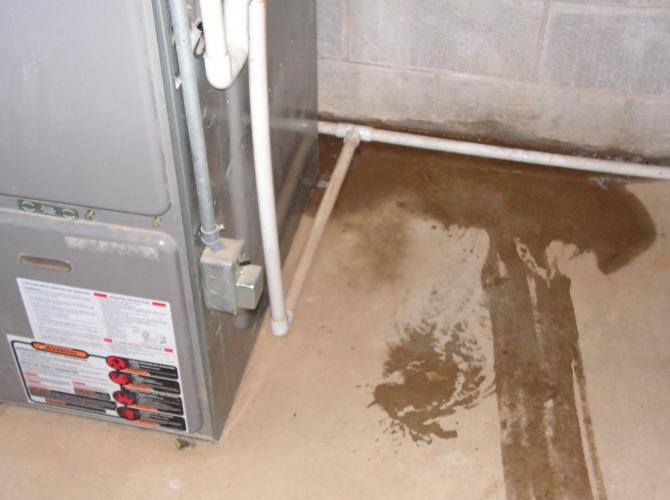 Ac Unit Leaking Water On Floor