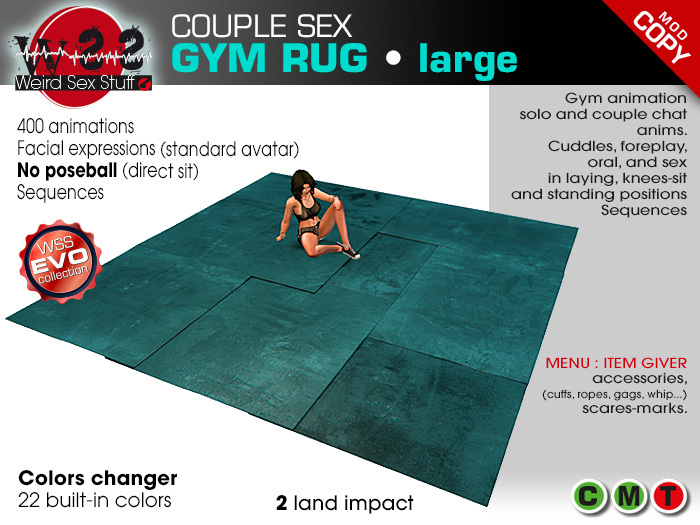 WSS Sex gym rug - large