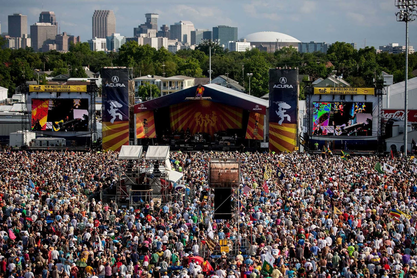 New Orleans Jazz & Heritage Festival: Nova Orleans