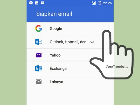 Akun lain di Gmail