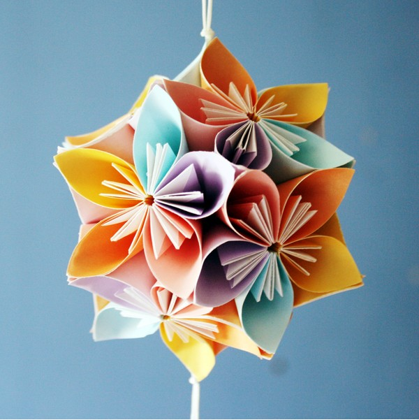 Life Images By Jill: How To Make A Kusudama Flower Ball
