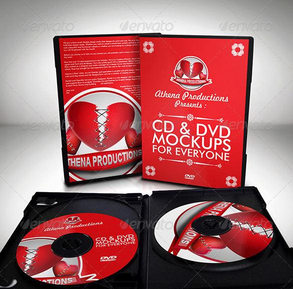 CD/DVD Mockups