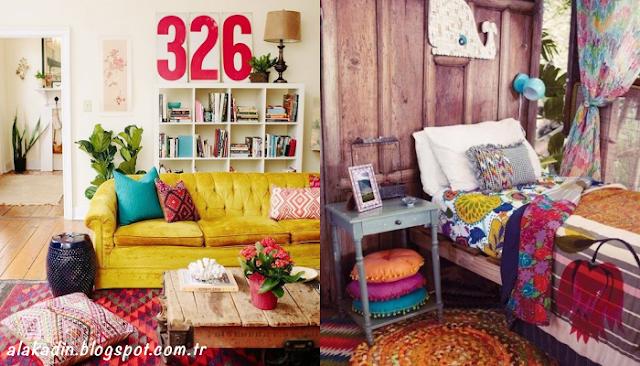 Bohem dekorasyon ile evlere nasıl farklılık katılır?
