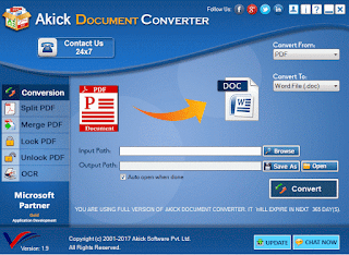 Akick Document Converter legal giveaway serial key license