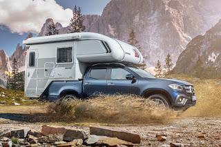 Mercedes-Benz X-Class (2018) Tischer Demountable Camper