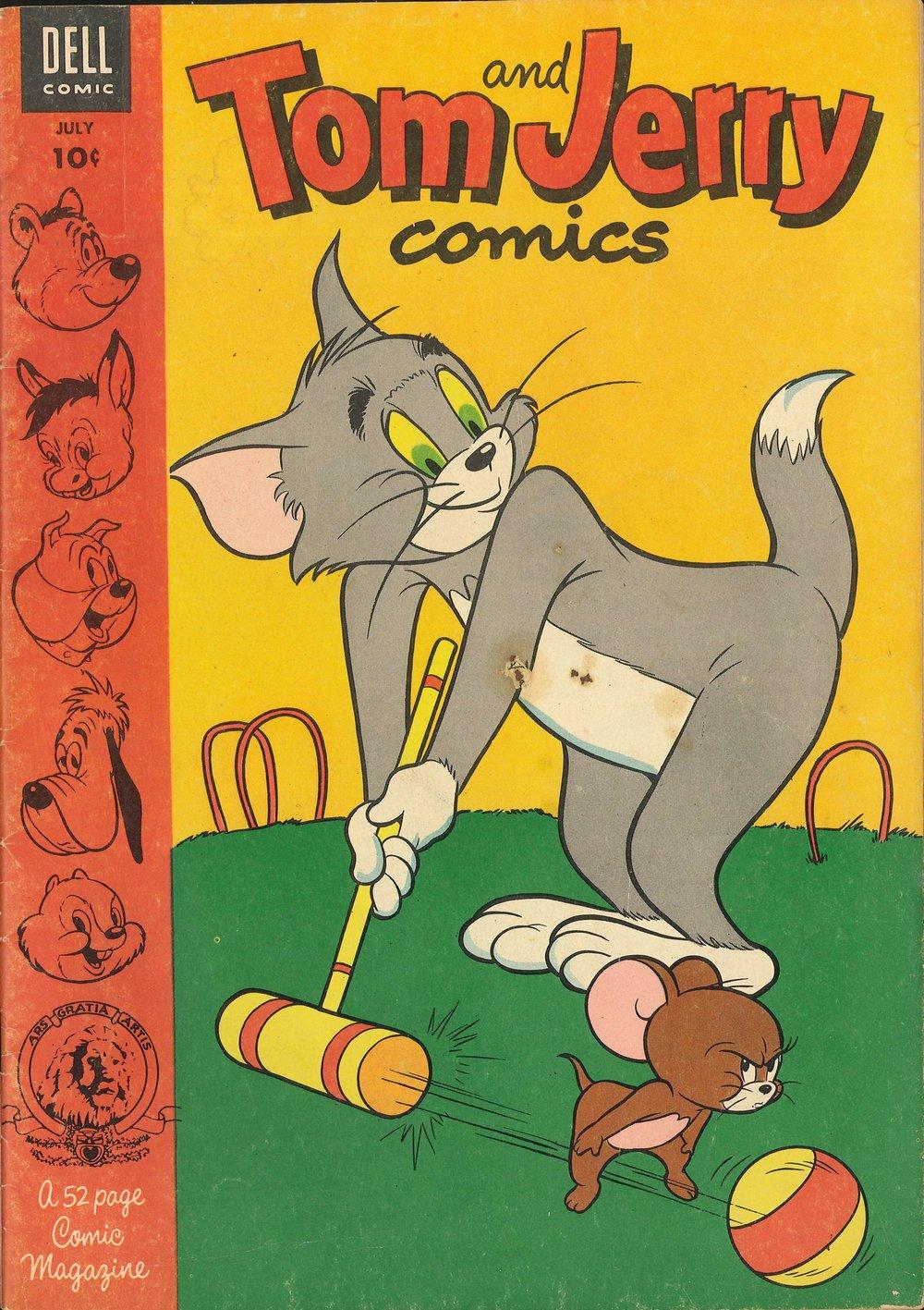 Tom & Jerry Comics 108 Page 1