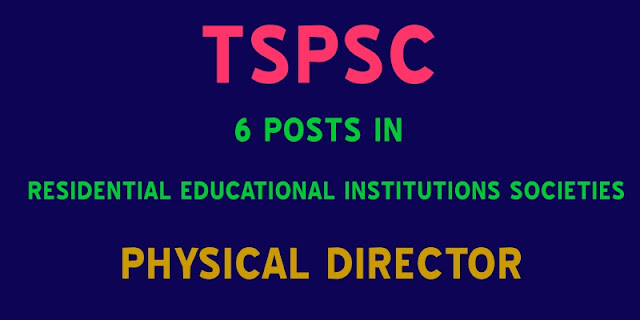 TSPSC-7306-Posts-Physical-Director