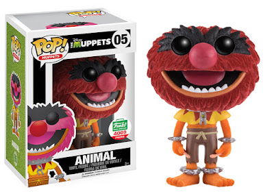 The Muppets Flocked Animal Pop! Vinyl Figure by Funko