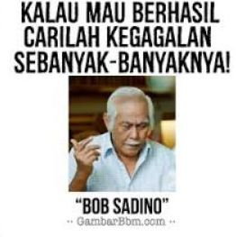 Gambar Kata Kata Bob Sadino