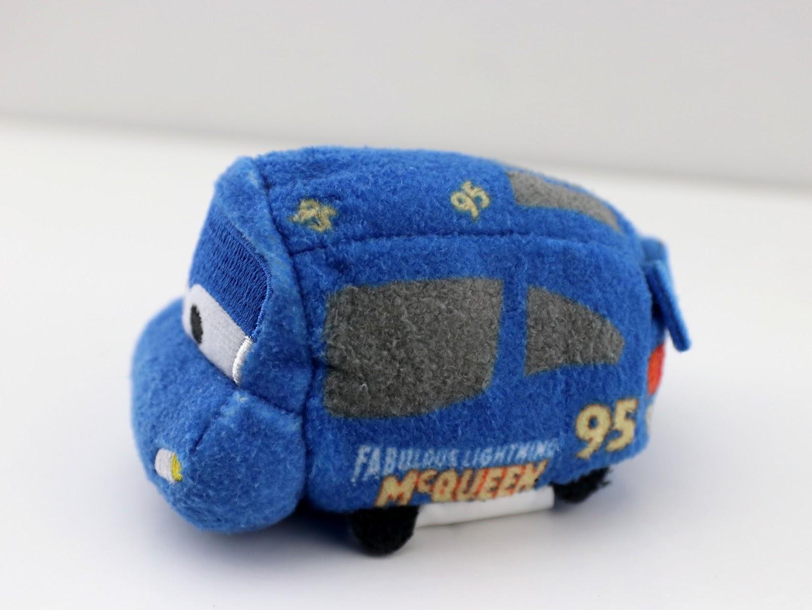 Cars 3 Fabulous Lightning McQueen & Dinoco Cruz Ramirez Tsum Tsum 2-Pack set