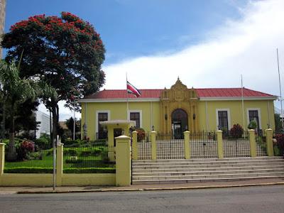 Casa colonial en el Barrio de Amon de San Jose