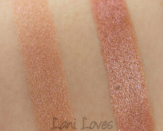 Glamour Doll Eyes Desert Man's Bluff eyeshadow swatches & review