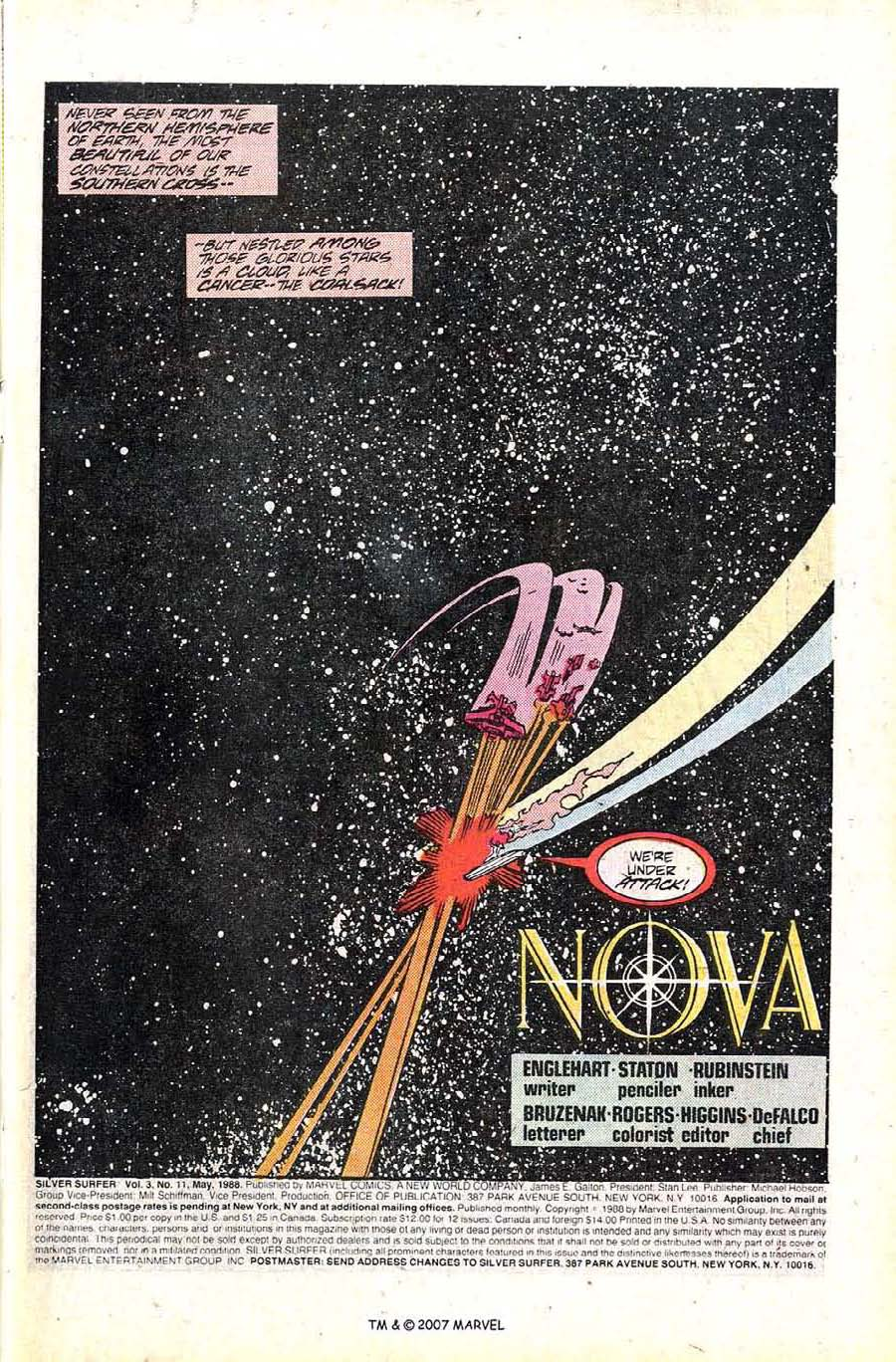 Read online Silver Surfer (1987) comic -  Issue #11 - 3