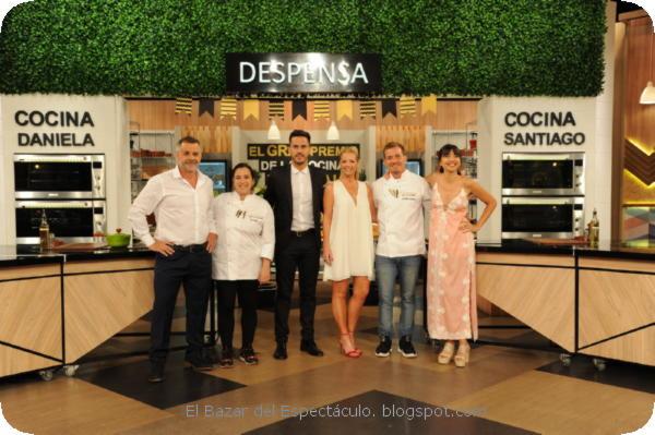 Final El gran premio de la Cocina 5 2019, ganador Daniela ...