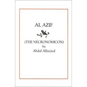 Couverture de Al Azif, d'Abdul AlHazred