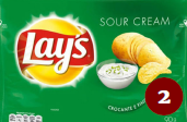 2- Papas fritas Lay's