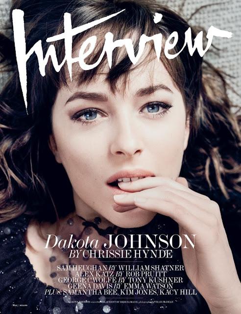 Actress, Model, @ Dakota Johnson - Interview May 2016
