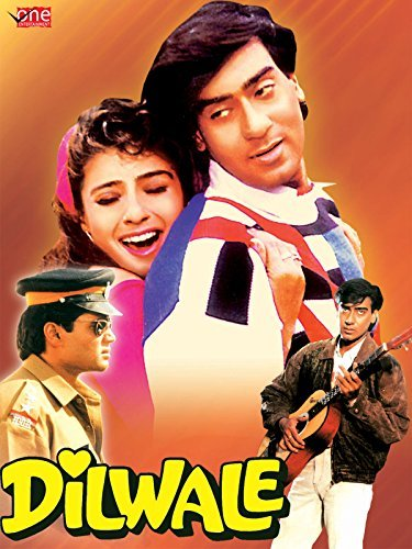 Poster Of Dilwale 1994 Hindi 720p HDTVRip Free Download Watch Online