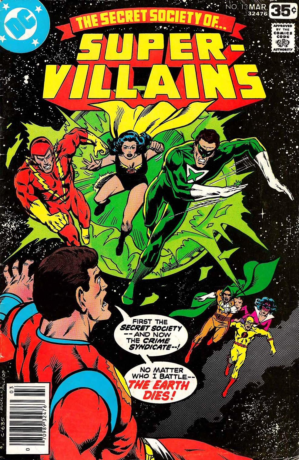 Read online Secret Society of Super-Villains comic -  Issue #13 - 1