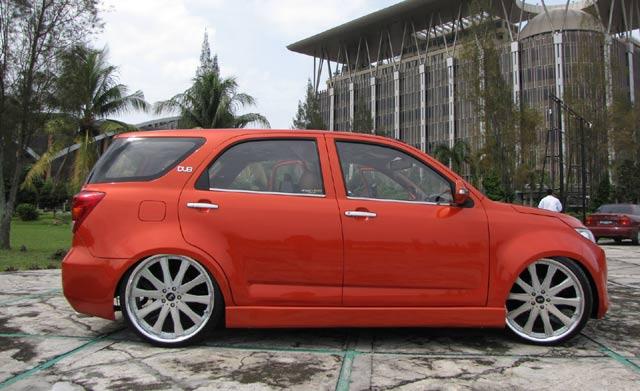 Modifikasi  Blog Modif Toyota Rush ceper
