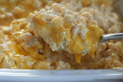 Slow Cooker Mac and Cheese recipe from Served Up With Love