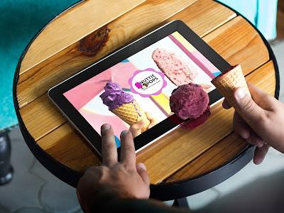 Site yönetimi, Tablet bilgisayar, Dondurma, Çalışma