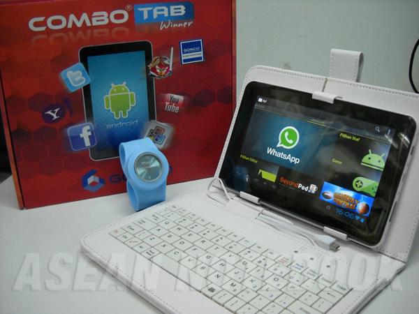Gosco Combo Tab Winner - Tablet ICS 7 Inci Prosesor 1.5GHz Hanya 700 Ribuan
